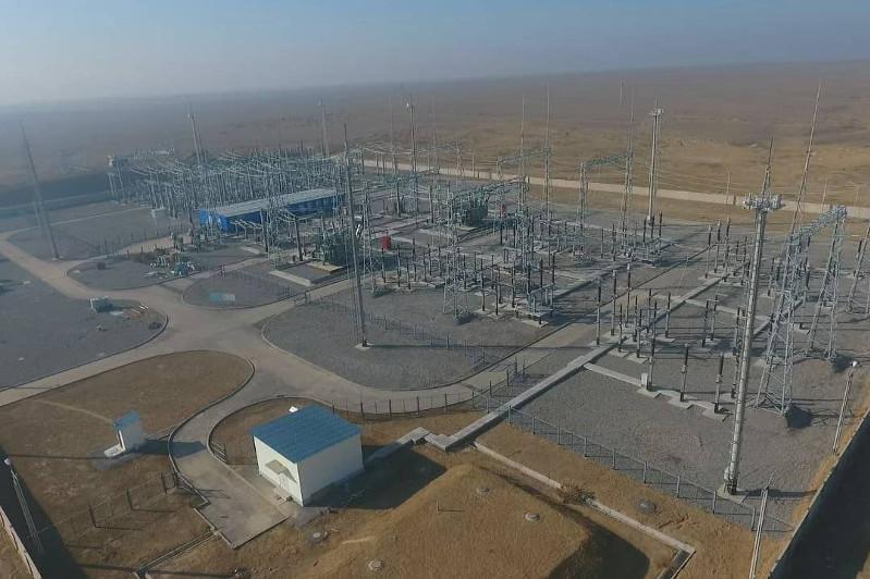 В 58 селах обновили электросети в Туркестанской области