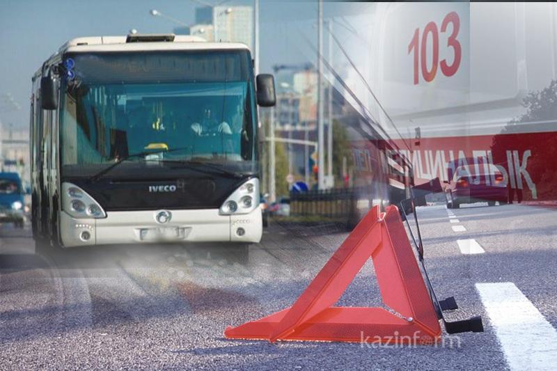 По вине водителей автобусов погибло 29 человек  в Казахстане - МВД