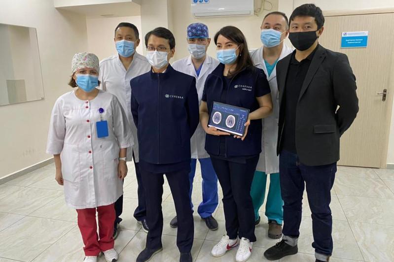 Искусственный интеллект впервые использовали в лечении ишемического инсульта в Алматы