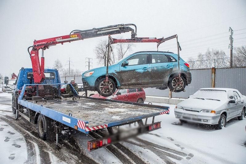 Более 170 авто водворено на штрафстоянку в Павлодарской области