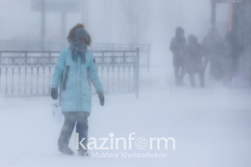 Storm alert issued for 7 regions of Kazakhstan