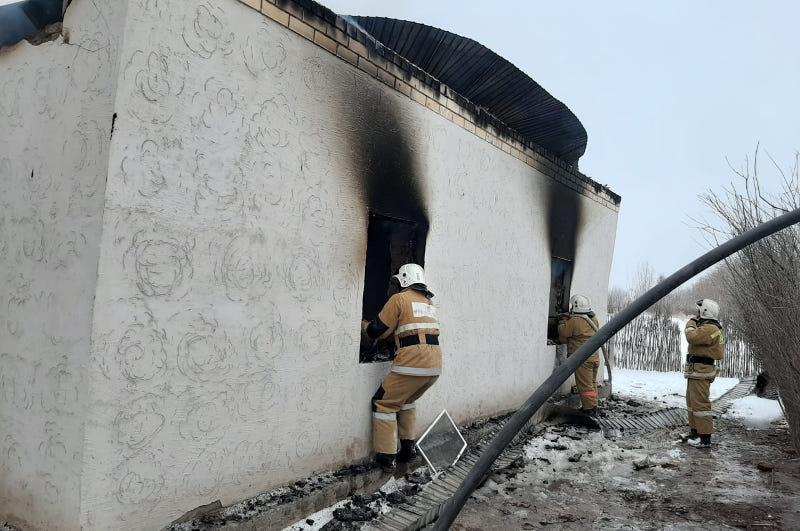 Қызылорда облысында тұрғын үй өртеніп кетті