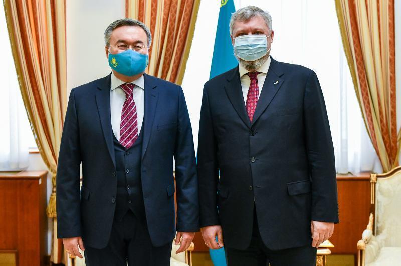 ҚР СІМ басшысы Украина Елшісін қабылдады