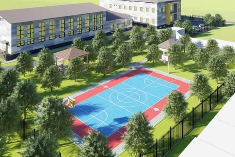 Новый дом школьников построят в Ленгере