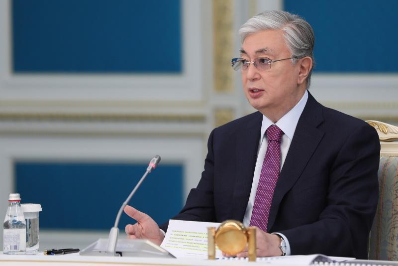 «Орталық Азия» халықаралық сауда орталығы тезірек салынуы керек - Тоқаев