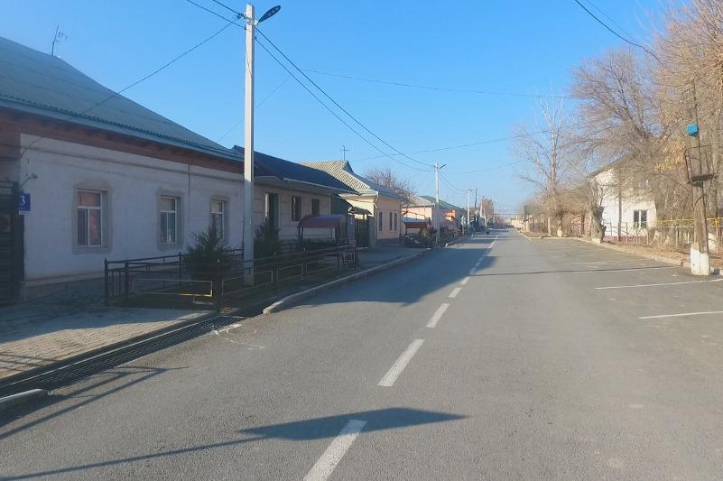 Около 70 км улиц отремонтируют в Келесском районе Туркестанской области