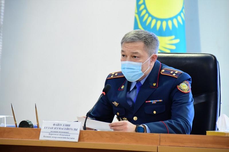 Почти на 25% уменьшилось количество уголовных правонарушений в Карагандинской области