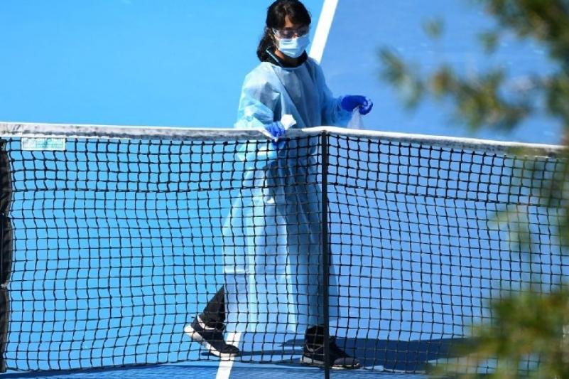 Аустралияда қатаң карантинде жатқан теннисшілер үшін турнир өтеді