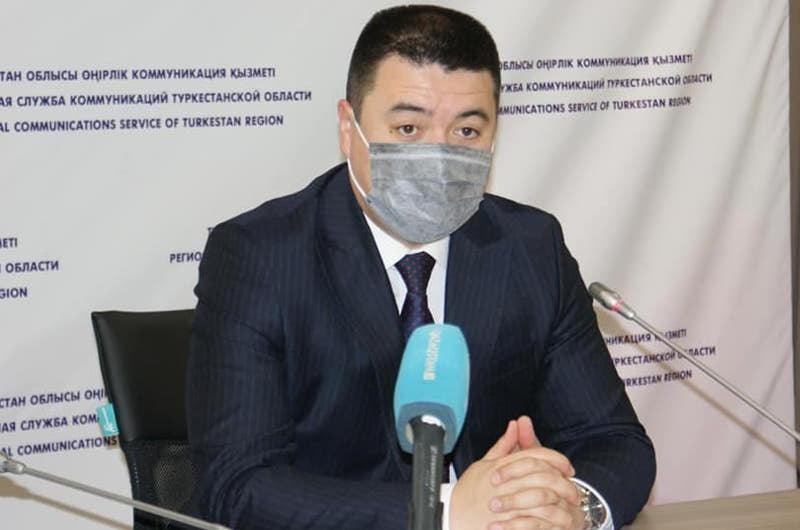 Түркістан облысының бас санитары мен басқарма басшысы бірінші болып вакцина салдырмақ