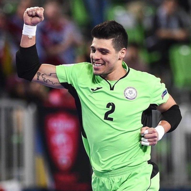 Футзал: «Қайрат» ойыншысы 2020 жылғы әлемнің үздік қақпашысы атанды
