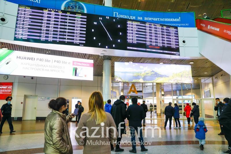 Алматыға шетелден  ПТР анықтамасы жоқ 13 мың жолаушы келген