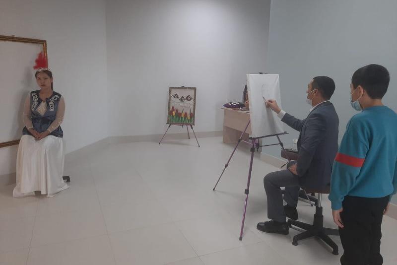 Дворец школьников начал работать в Туркестане