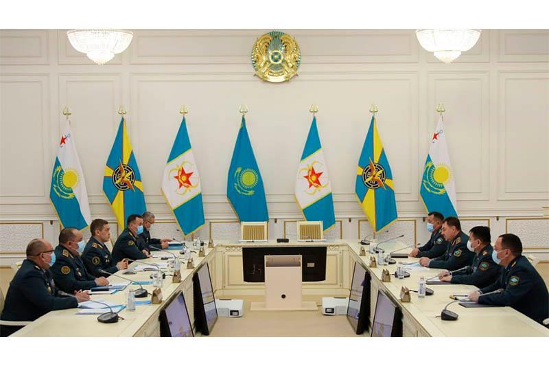 哈萨克斯坦武装力量官兵将参与消除紧急情况任务