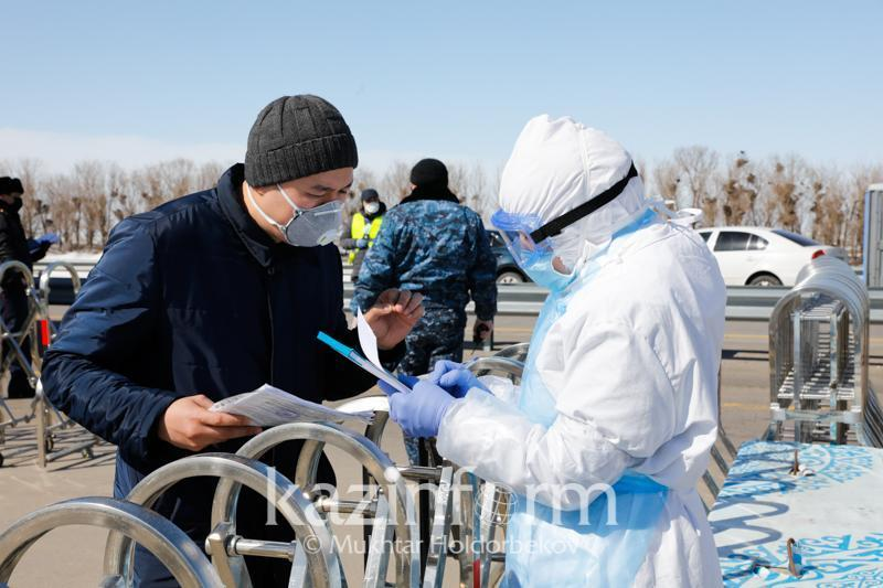 Pavlodar rgn to roll out 20 sanitary posts to curb COVID-19 spread