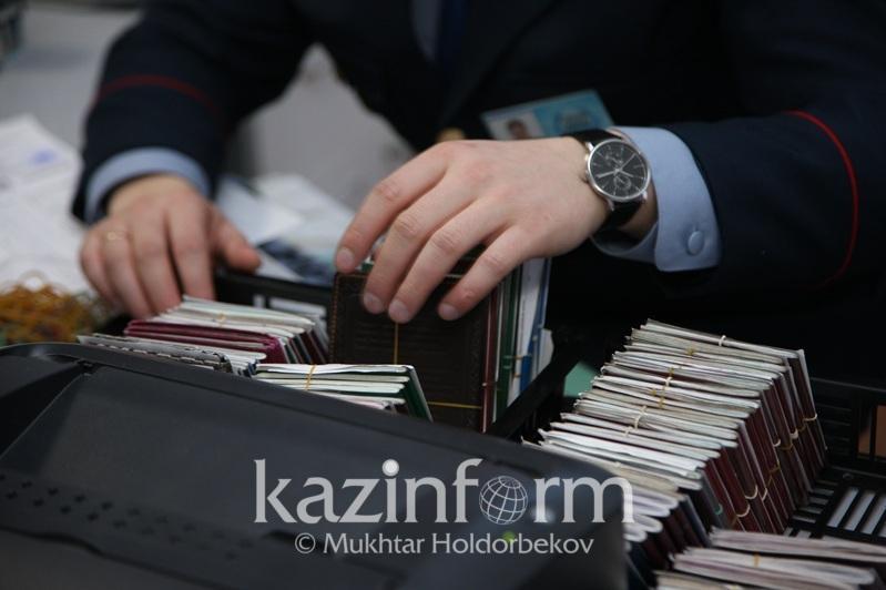 Атырау облысында 24 шетелдік елден мәжбүрлі түрде шығарылды