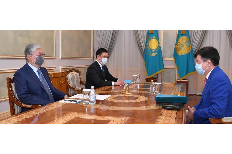 ҚР Президенти Олий суд раисини қабул қилди