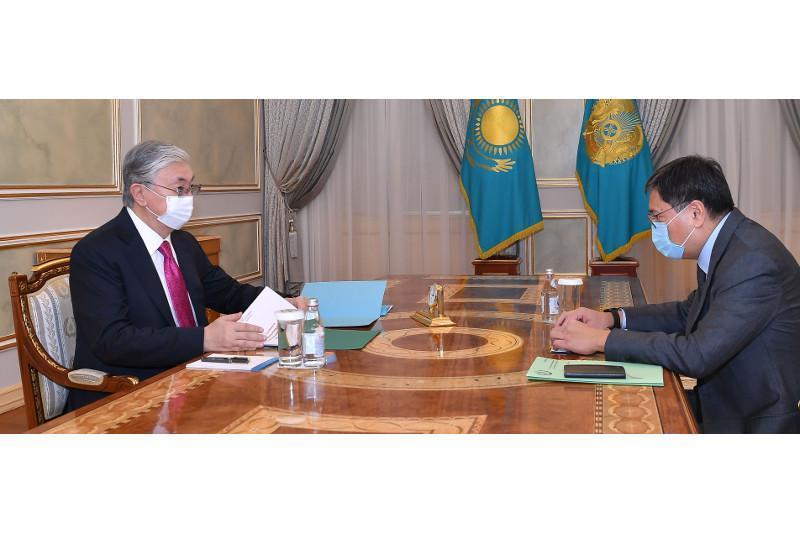 President Tokayev receives Governor of National Bank
