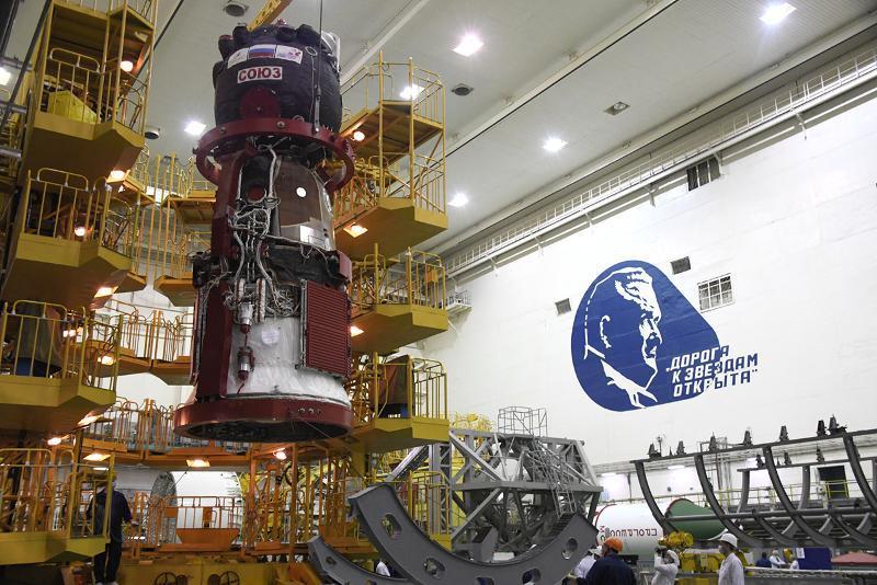 «Байқоңырда» «Союз МС-18» кемесін ұшыруға дайындық жүріп жатыр