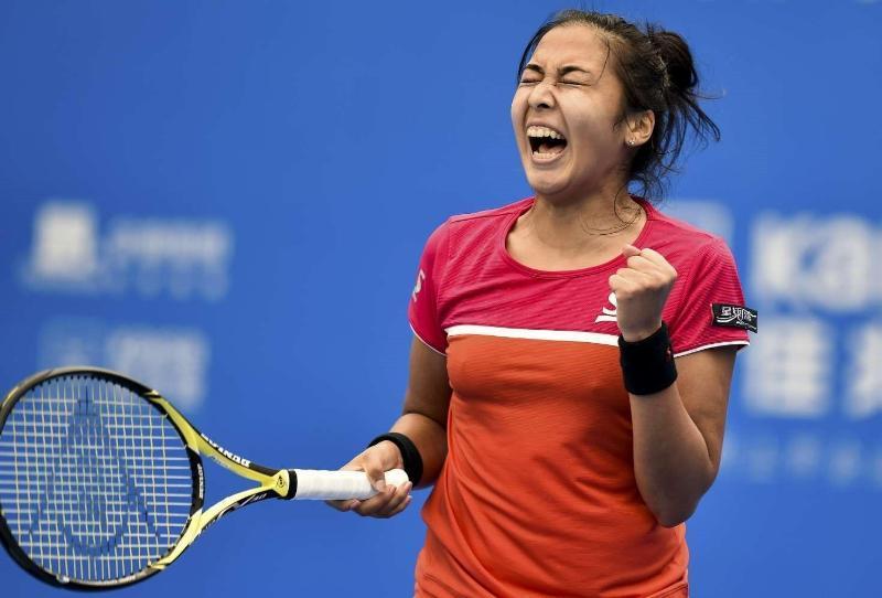 Zarina Diyas wins first round match at Australian Open 2021
