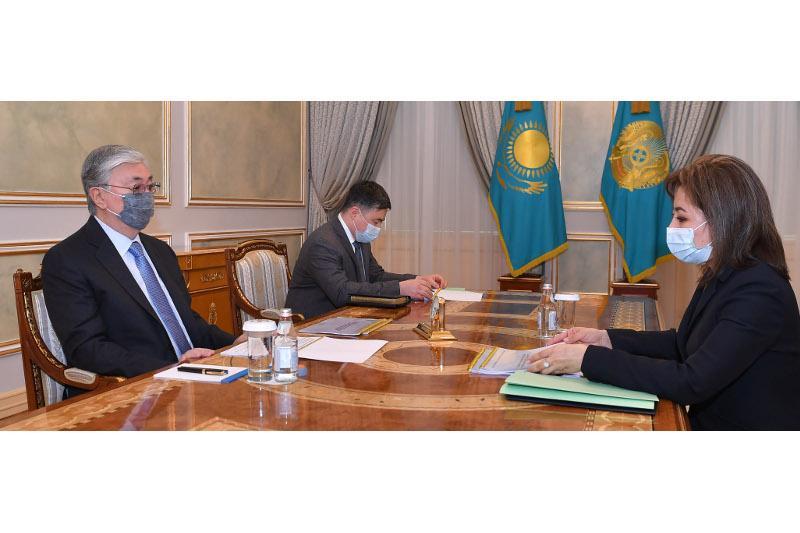 Мемлекет басшысы Мәдина Әбілқасымоваға бірқатар міндеттер жүктеді