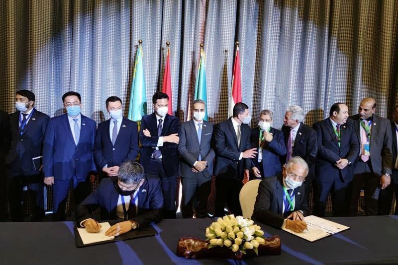 哈埃贸易和投资商业论坛在开罗举行