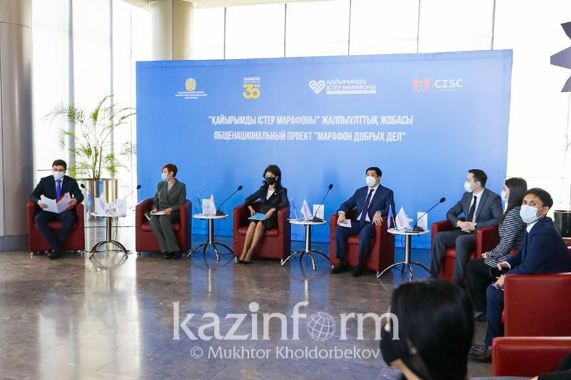 Внедрить меры косвенного стимулирования благотворительности предлагается в Казахстане- Аида Балаева