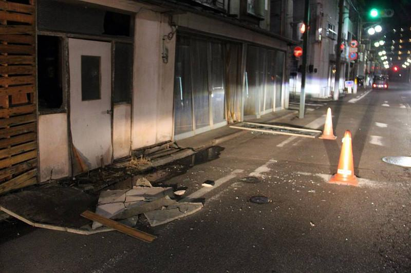 At least 30 injured after 7.3-magnitude quake strikes off northeastern Japan