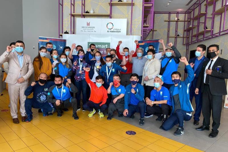 Казахстанские параатлеты завоевали 11 медалей на Мировой серии Гран-при Дубай 2021