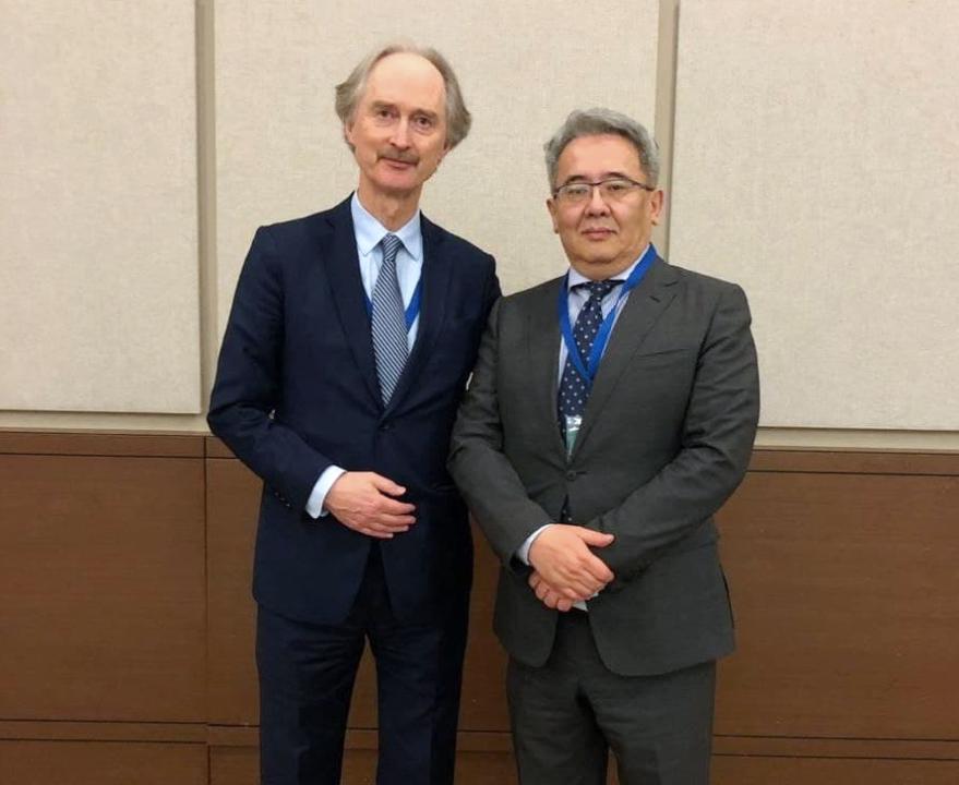 哈萨克斯坦外交官出席叙利亚问题阿斯塔纳进程国际会议