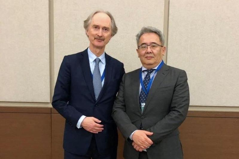 Kazakhstan partakes in international meeting on Syria