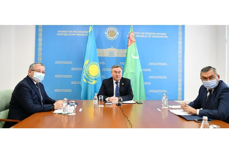 قازاقستان مەن تۇرىكمەنستان 2021-2023-جىلدارعى ىنتىماقتاستىق باعدارلاماسىنا قول قويدى