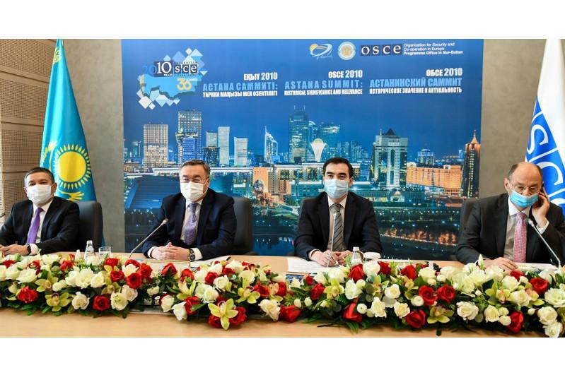 Состоялась международная онлайн-конференция «Астанинский саммит ОБСЕ 2010: историческое значение и актуальность»