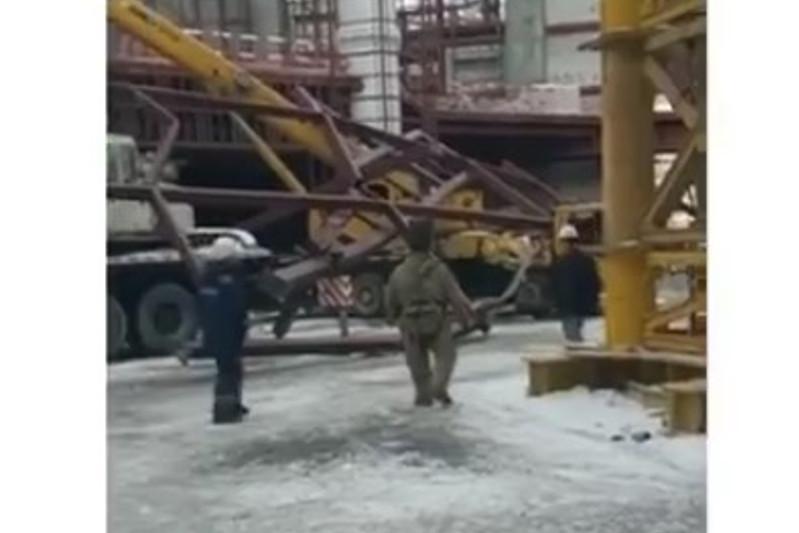 Обрушилась конструкция строящейся в Нур-Султане мечети