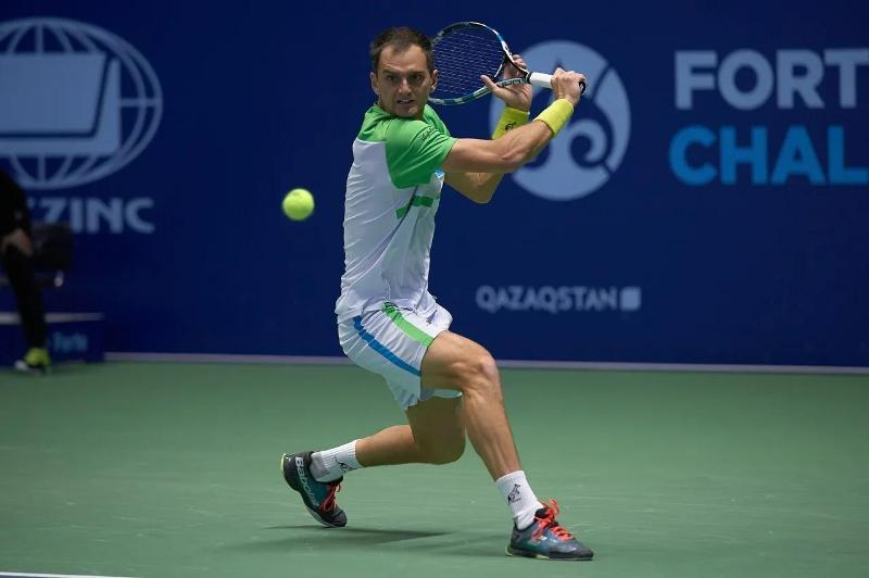 Nedovyesov eases into Forte Challenger 100 qualification final in Nur-Sultan