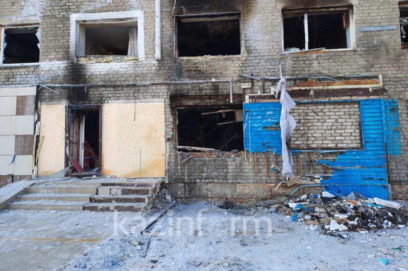 Взрыв газа в Петропавловске: подробности рассказали спасатели