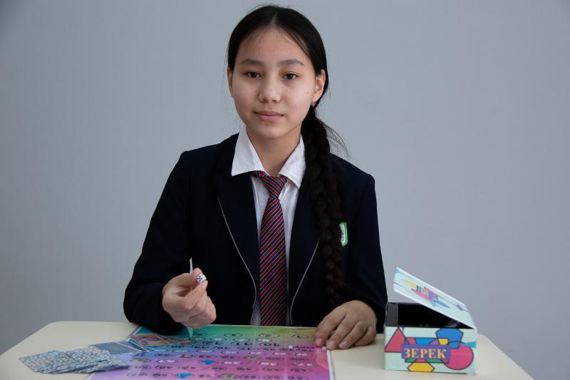 БҚО-да мектеп оқушысы жаңа үстел ойынын құрастырып шығарды