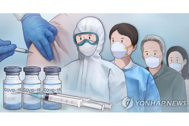 Less than half of S. Koreans willing to receive COVID-19 vaccine shots immediately: poll