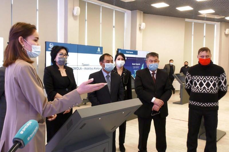 Ақмола облысында сыбайлас жемқорлыққа қарсы алғашқы виртуалды көрме өтті
