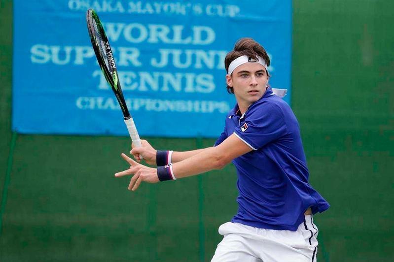 Казахстанский теннисист Тимофей Скатов закончил выступления на Forte Challenger 100