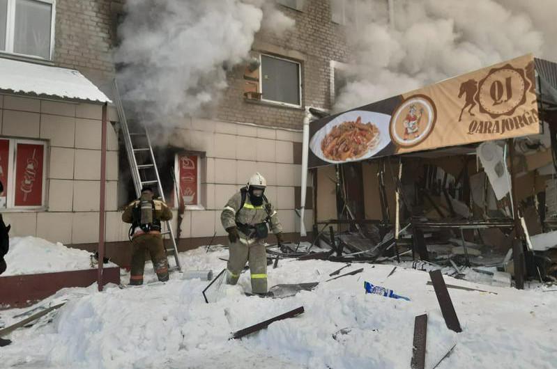 Взрыв газа в Петропавловске: погибли арендатор и сотрудница кафе