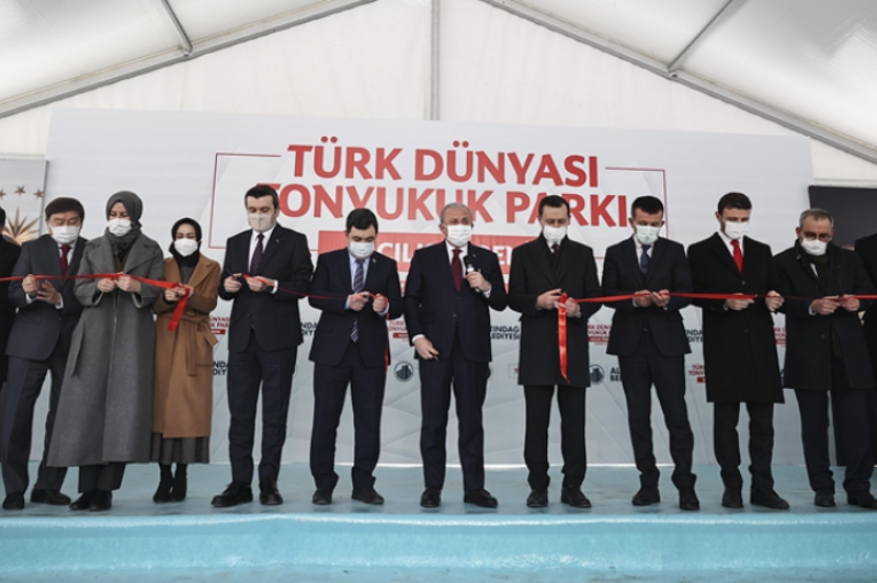 Iconic Turkic world monument replica erected in Turkey
