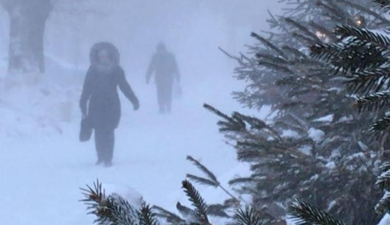 Wind and blizzard in store for most regions of Kazakhstan Feb 23