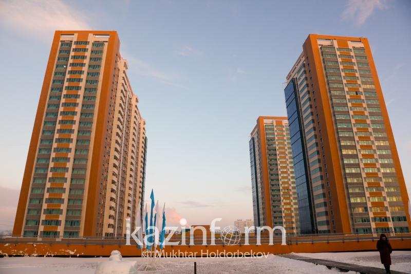 В 2020 году в Казахстане построено более 15 млн. кв. метров жилья