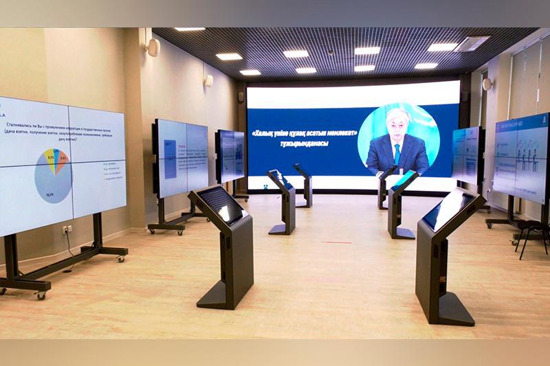 Первая виртуальная антикоррупционная выставка открылась в Акмолинской области