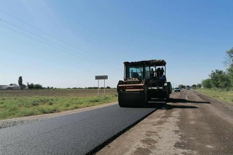 Более 200 улиц отремонтировали в Жетысайском районе Туркестанской области