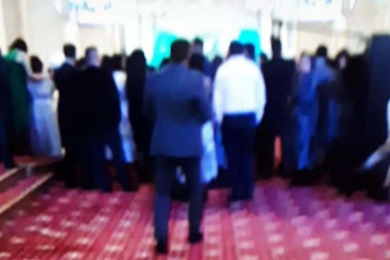 Кыз узату на 100 человек остановили полицейские Сарыагаша