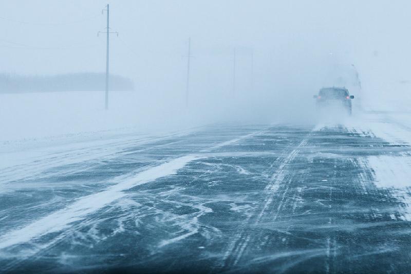 Ограничено автодвижение на дорогах Акмолинской области и ЗКО
