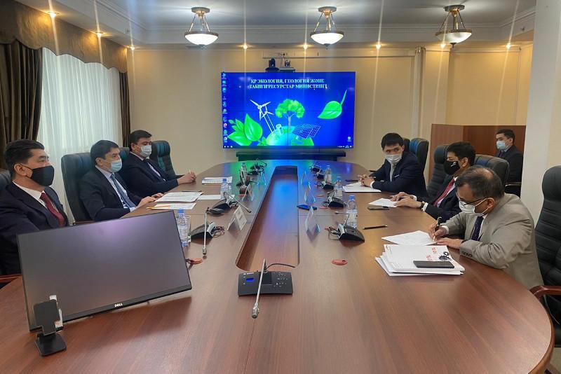 Экология министрі «АрселорМиттал Теміртау» басшылығына өндірісті жаңғырту туралы шарт қойды