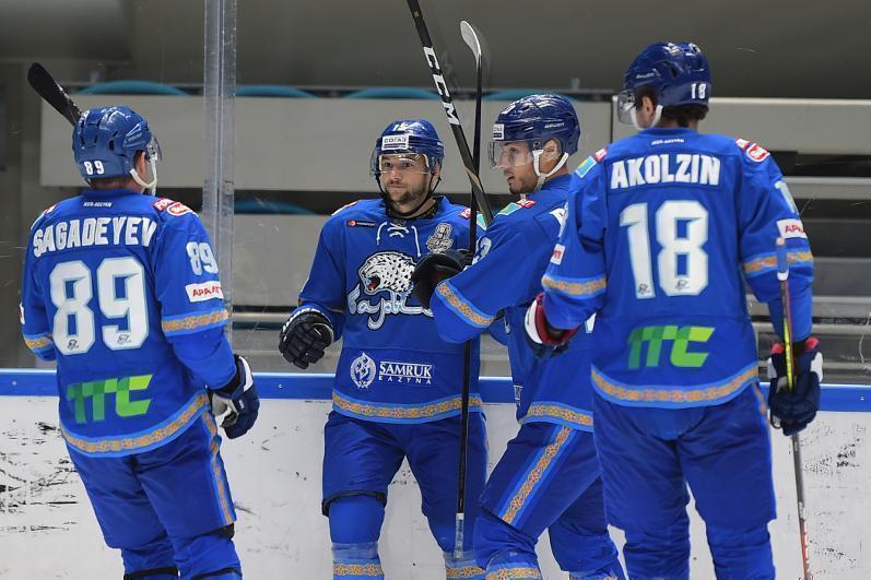 ХК «Барыс» объявил состав на выездной матч КХЛ против «Ак Барса»