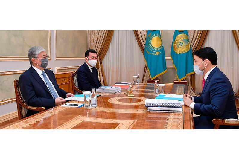ҚР Президенти Миллий жамоат ишонч кенгаши аъзолари билан учрашди
